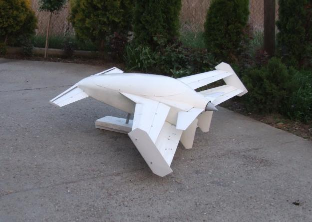"MODEL OF ""INOVATIVE COMPOSITE ULTRALIGHT TWO-SEATER PLANE"""