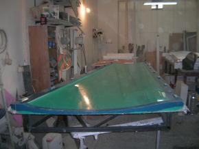 Cobalt Co5 mold for wing