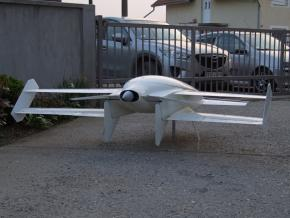 Final model of the plane